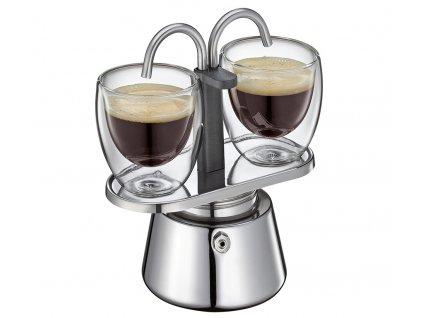 342970 Vařič na espresso 2 šálky nerez od cilio foto 2