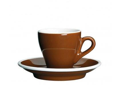 215090 Milano šálek s podšálkem 50 ml hnědý od Cilio.