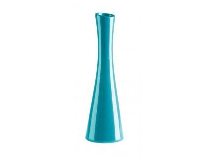 Váza X 7,5x25 cm tyrkysová - by inspire