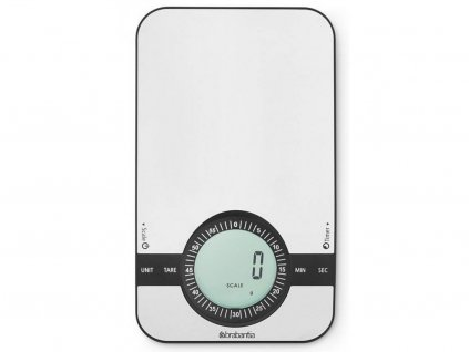 480607 Digitální kuchyňská váha s minutkou od Brabantia