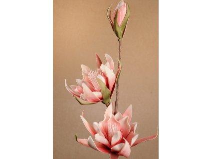 Dekorační květina červená 88 cm