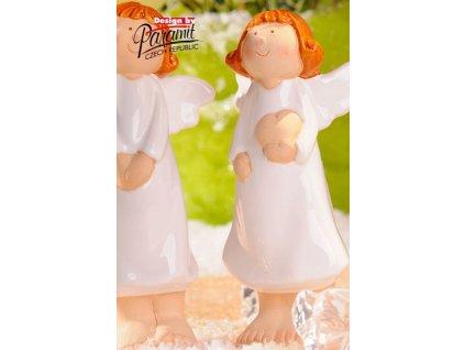 Anděl dívka Pepita 18 cm