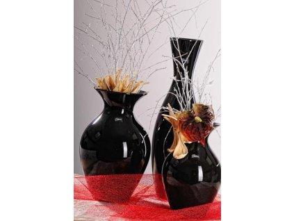 Grand váza černá 36 cm