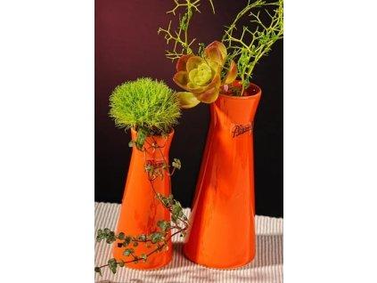 Kapucin váza porcelán oranžová 12,5 cm  - Paramit - 520-13O
