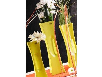 X-Vase váza zelená 35 cm