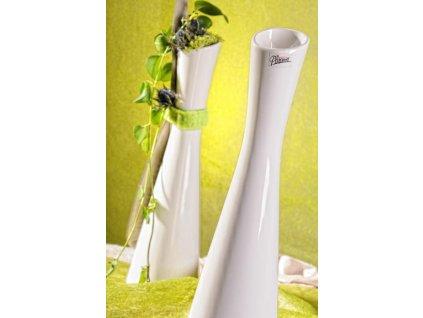 60 35W Link váza bílá 35 cm