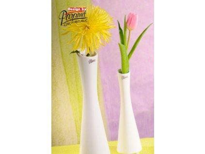 Link váza bílá 35 cm  - Paramit - 60-35W