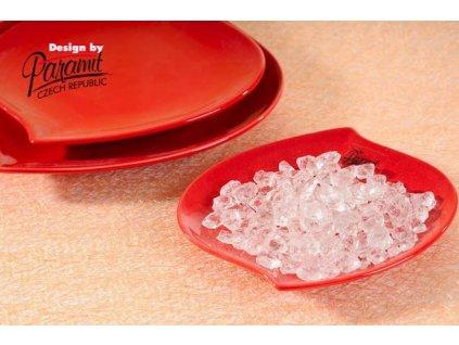 S-line talíř červená 13 cm