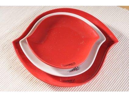 S-line talíř červená 16 cm  - Paramit - 109-16R