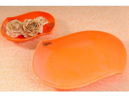 109 20O S line talíř oranžová 20 cm