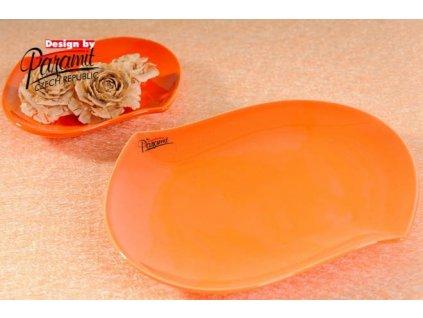 S-line talíř oranžová 20 cm