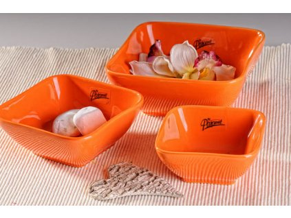 10 10O Darling miska oranžová 10 cm