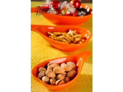 Lamella miska oranžová 12 cm  - Paramit - 18-12O