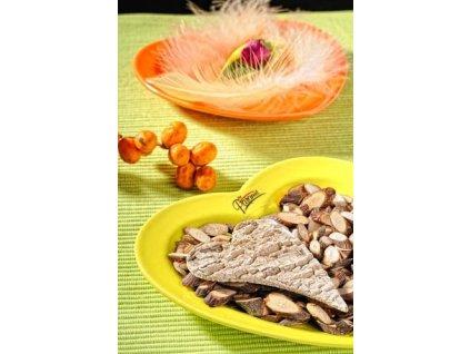 Srdce talíř oranžová 13 cm  - Paramit - 751-13O
