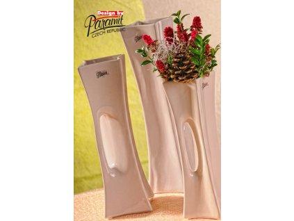 X-Vase váza béžová 30 cm - Paramit - 58-30C - 58-30C