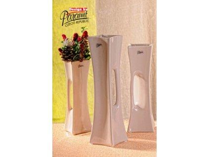 X-Vase váza béžová 35 cm