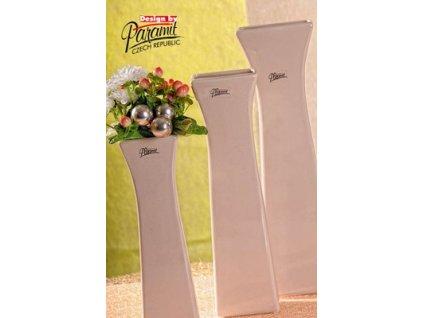 Cedreta váza béžová 35 cm  - Paramit - 11062-35C