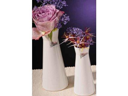 Kapucin váza porcelán bílá 12,5 cm  - Paramit - 520-13W