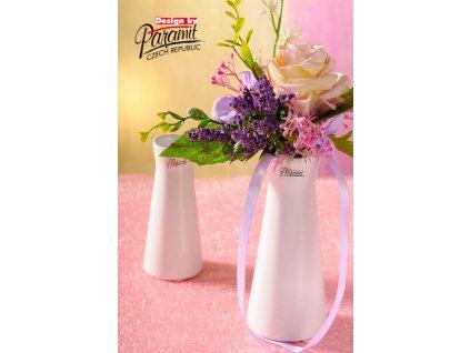 520 16W Malá bílá váza Kapucín 16 cm od Paramit
