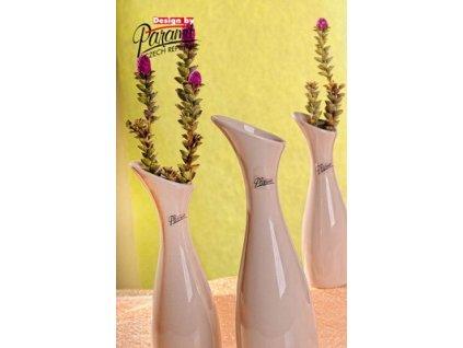 Váza béžová 25 cm Soffi
