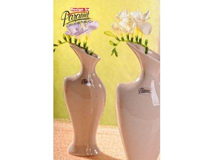 Váza béžová 25 cm Žena  - Paramit - 5504-25C