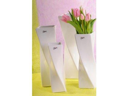 Xenie Váza bílá 24 cm
