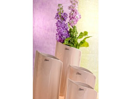 11078 24C Váza béžová 24 cm Leila