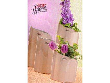 Váza béžová 24 cm Leila  - Paramit - 11078-24C