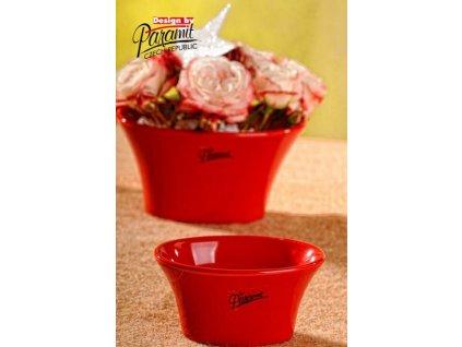 Linda miska červená 10 cm  - Paramit - 11090-10R