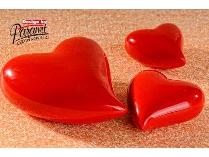 Srdíčko červené 12 cm  - Paramit - 11055-12R