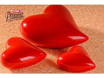 Srdíčko červené 7 cm  - Paramit - 11055-7R
