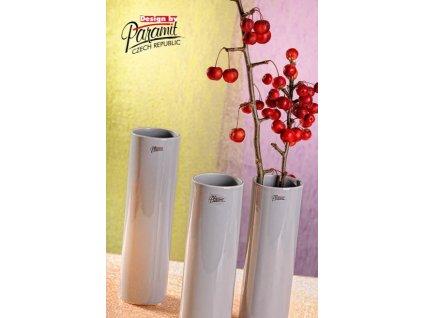Polly váza šedá 27 cm  - Paramit - 12011-27GY