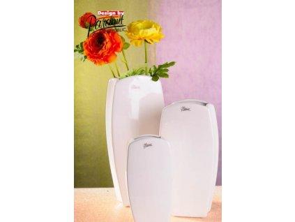 Vanda váza bílá 22 cm