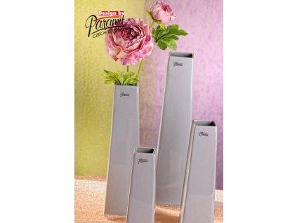 Wendy váza šedá 30 cm