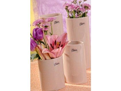 11083 15C Dita váza béžová 15 cm