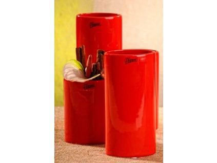 11083 15R Dita váza červená 15 cm
