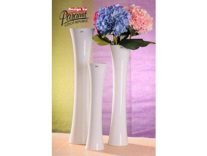 Jitka váza bílá 60 cm  - Paramit - 12036-60W