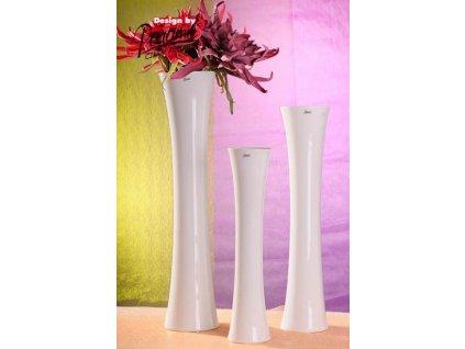Jitka váza bílá 70 cm