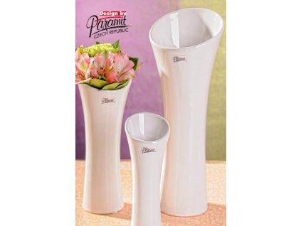 Sydney váza bílá 20 cm  - Paramit - 11067-20W