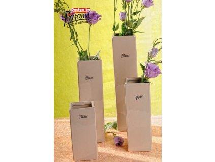 Trudy váza béžová 30 cm