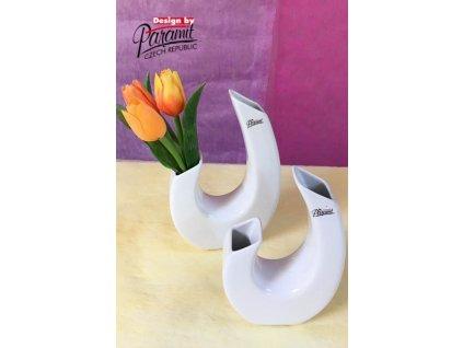 Twigy váza bílá 18 cm  - Paramit - 12018-18W