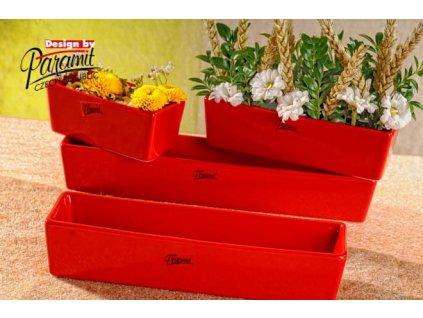 Vlasta žardinka červená 24 cm  - Paramit - 11085-24R
