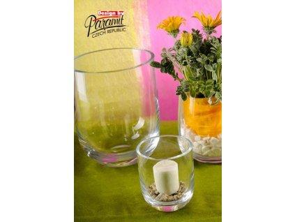 Arona váza sklo 13 cm  - Paramit - S065-13