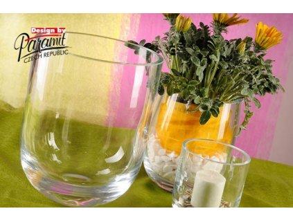 Arona váza sklo 24 cm  - Paramit - S065-24