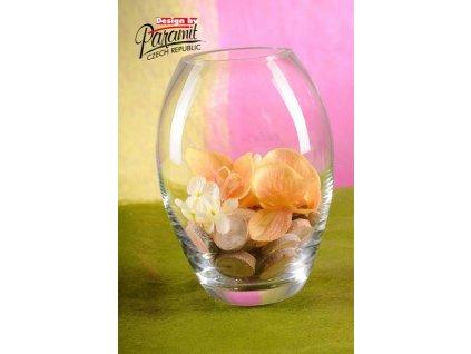 Borneo váza sklo 19 cm