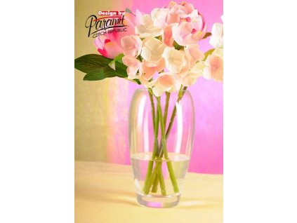 Simona váza sklo 18 cm