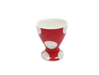 Porcelánový kalíšek na vejce červený - Polkadot PD3041 - Maxwell&Williams
