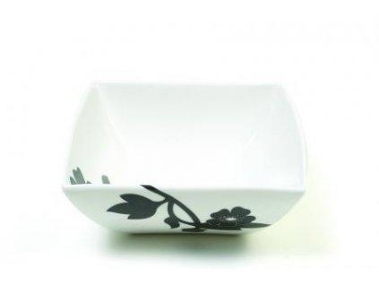 Porcelánová miska čtvercová 16 cm - Cherry Blossom  - Maxwell&Williams