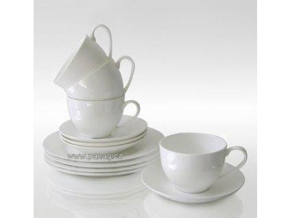 Porcelánová kávová souprava 12 ks - Cashmere  - Maxwell&Williams