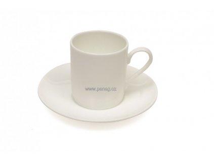 Porcelánový šálek s podšálkem Espresso 110 ml - Cashmere  - Maxwell&Williams